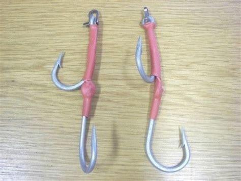 Assist Hook 11 0 Stainless kamikaze 2 lure assist hook 11 0 d shackle rigs ebay