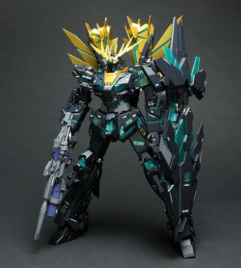Unicorn Banshee 1 100 Daban Model Mg Master Grade p bandai exclusive mg 1 100 rx0 n unicorn gundam 02 banshee norn battle ver bandai