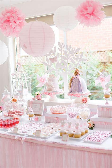 Tangled enchanted garden party via kara s party ideas