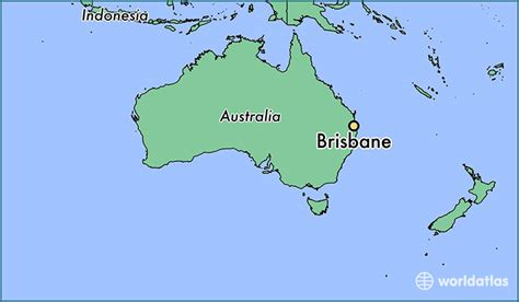 map world brisbane where is brisbane australia where is brisbane