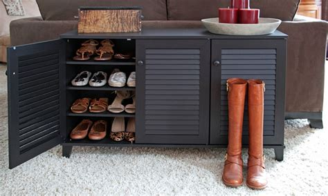modern shoe cabinets groupon goods