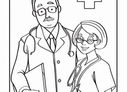 educational coloring pages dr doctor pictures to color free www aidecworld