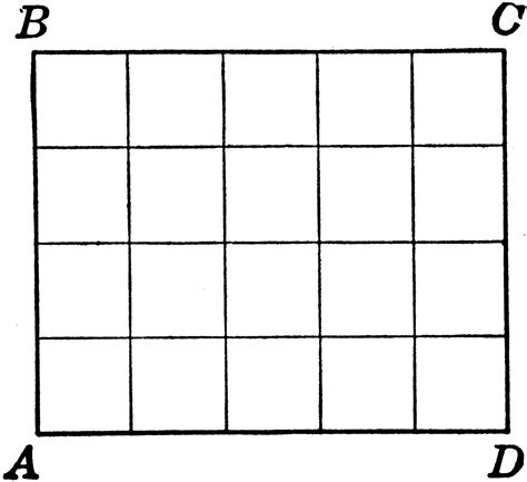 rectangle square rectangle with area squares clipart etc