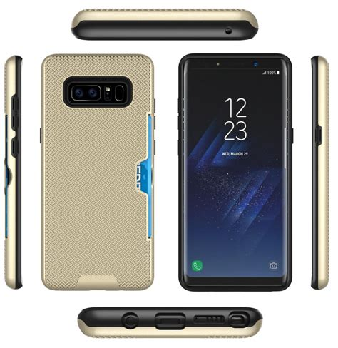 Galaxy Note 8 third party case leaked pics show its design, buttons & ports position