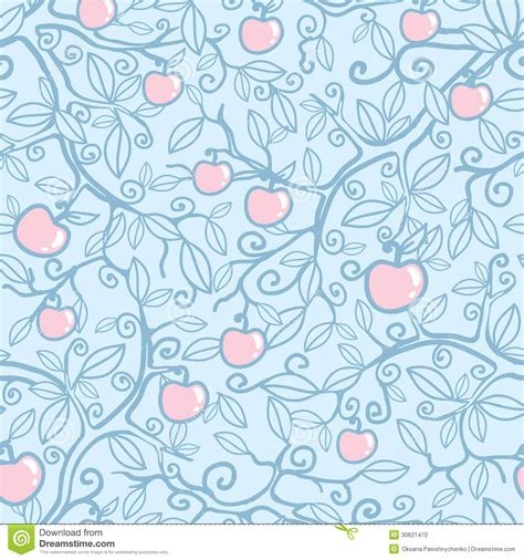 flowers seamless pattern element vector background apple tree seamless pattern background stock photo image