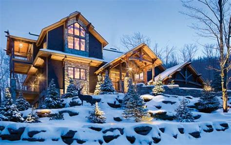a timber frame house for a cold climate part 1 timber home in new york warms up the winter