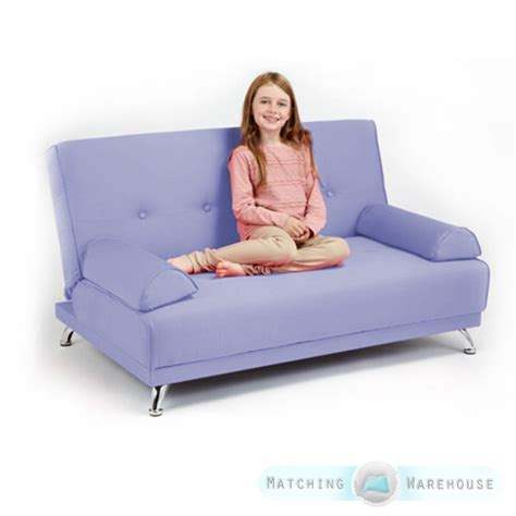 kids futon sofa childrens cotton twill clic clac sofa bed with armrests