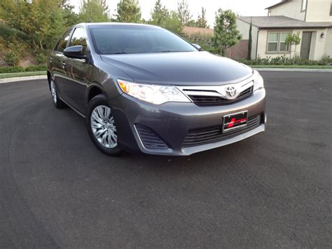 toyota camry limo used sedan for sale 2013 toyota camry le in irvine ca