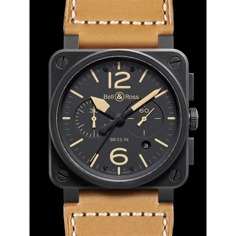 Bell Ross bell and ross br heritage br0394 heritage bell ross