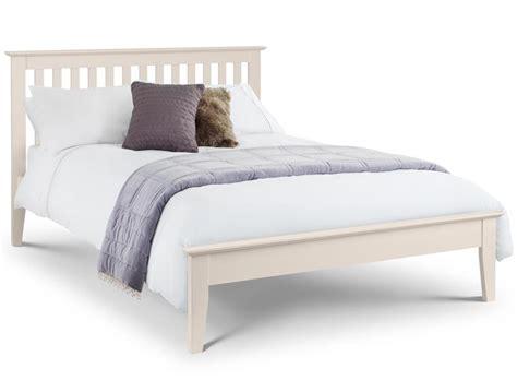 julian bowen salerno white wood bed frame buy
