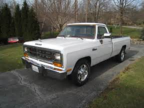 1988 dodge ram d250 le 2 wheel drive 2500 8 foot bed