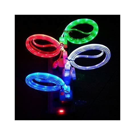 light iphone charger light up led iphone charger cables drunkmall
