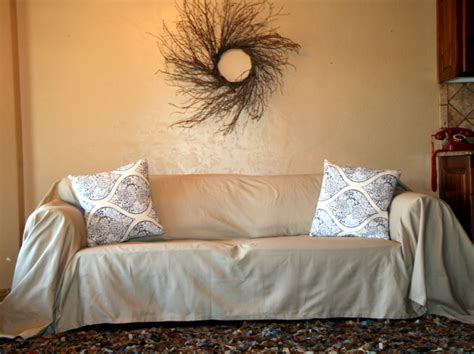 dropcloth slipcover uglysofa com dropcloth slipcovers fit a variety of