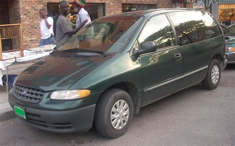 2000 plymouth voyager information and photos momentcar
