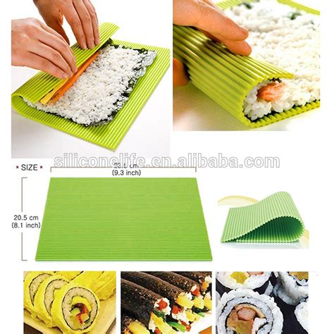 Where To Buy Sushi Rolling Mat by New Sushi Gimbap Kimbap Roll Maker Non Toxic Silicone