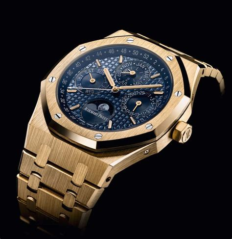 Metal Homes by Audemars Piguet Royal Oak Perpetual Calendar In Yellow Gold