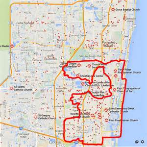 map of florida showing fort lauderdale fort lauderdale hates the homeless part 1