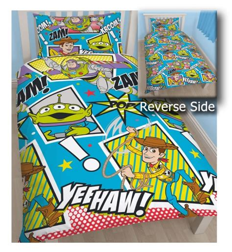 Story Quilt Cover by Disney Story Yeehaw Reversible Rotary Single Bed