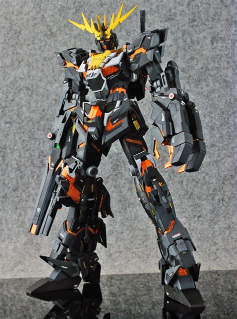 Mg 1100 Unicorn 02 Banshee gundam mg 1 100 unicorn gundam 02 banshee customized build