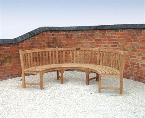 teak curved bench henley teak curved garden bench lindsey teak