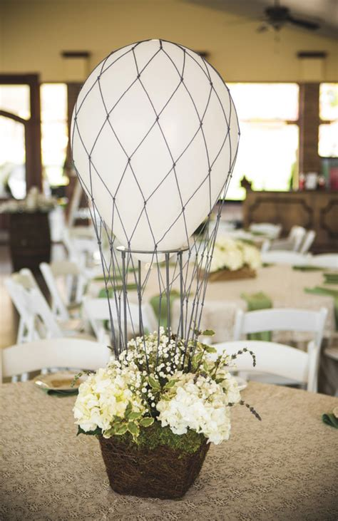 Classy hot air balloon wedding ryan renee the pink bride