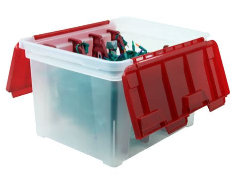 Light Storage by Iris Light Storage Box In Ornament Storage Boxes