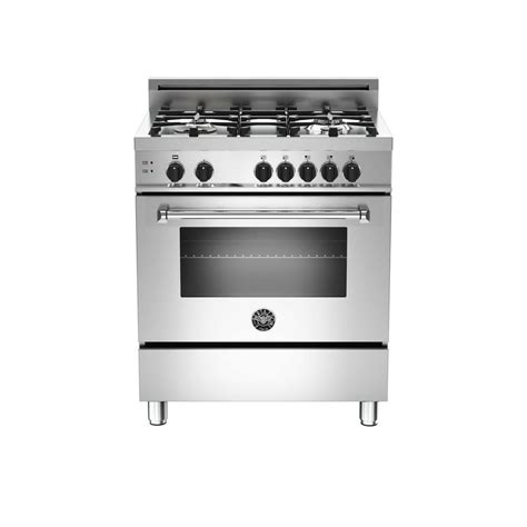 Oven Gas Home Industri frigidaire gallery 4 6 cu ft slide in dual fuel range in