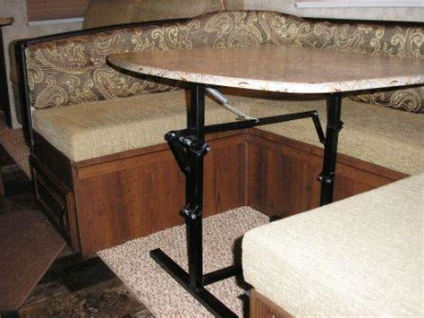 rv folding dinette table going the way outback modifications outback rv