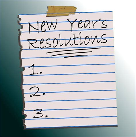 new year s resolutions the joy of healthy living