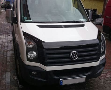 volkswagen crafter 2010 vw crafter hood bonnet deflectors crafter tuning parts