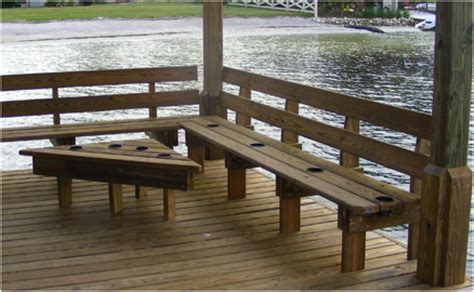 boat dock benches view the latest docks n seawalls projects