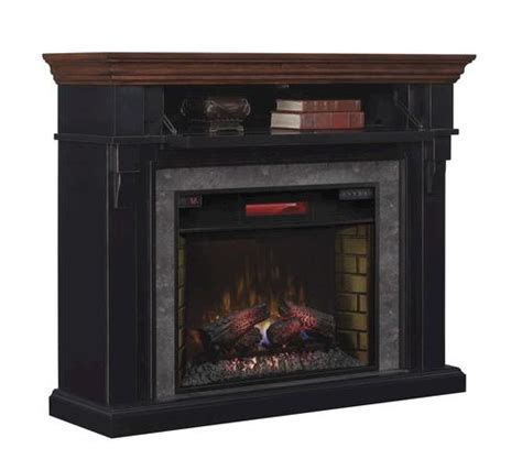 Menards Electric Fireplace Mayville Electric Fireplace In Cottage Revival Black At Menards 174