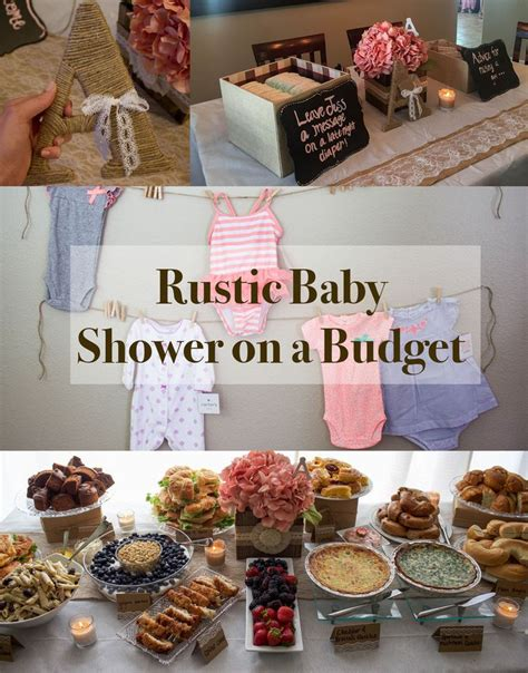 How To Throw A Baby Shower For Cheap by Best 25 Budget Baby Shower Ideas On Baby