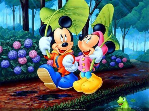 wallpaper karakter disney 199 izgi film kahramanı mickey mouse ve sevgilisi resmi