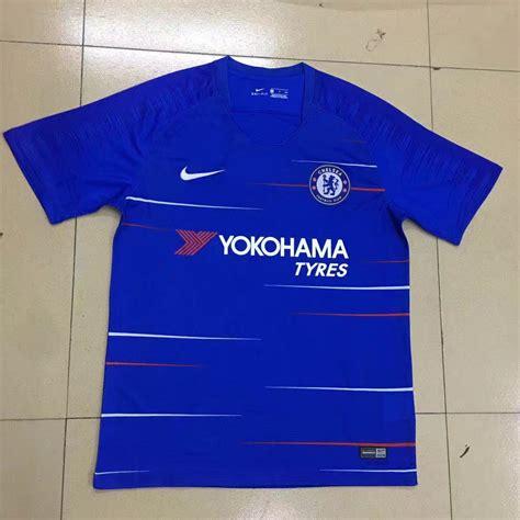 Jersey New Chelsea Home chelsea 2018 19 home shirt soccer jersey cheap football