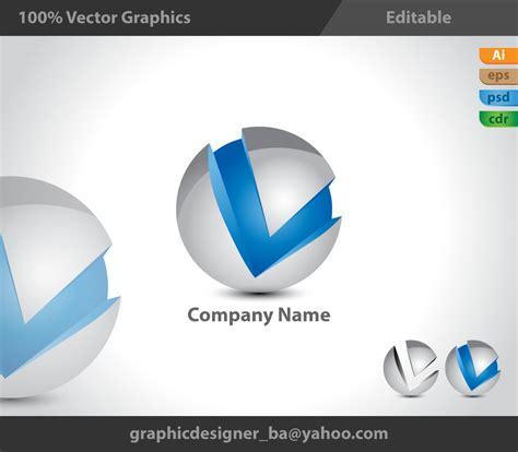 3D Logo, 3d style, V logo, V 3d logo by DesignerYounas on ... Y Logo 3d