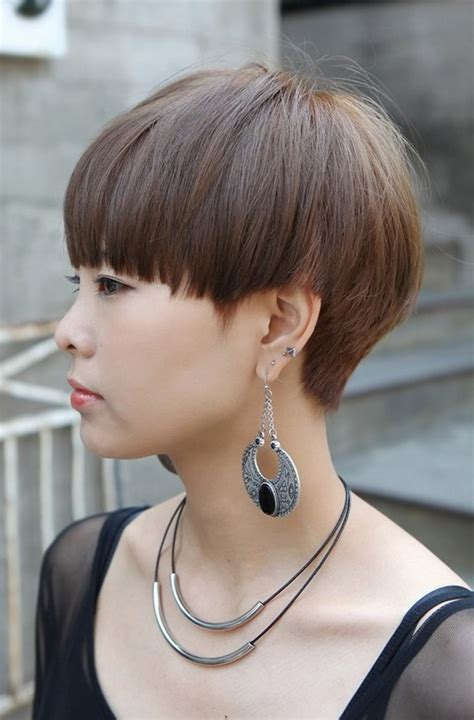 the heir korean hair style short bowl cut for girls korean hairstyles for girls