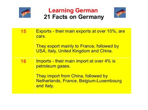 German Mba Requirements by 21 Interesting Germany Facts