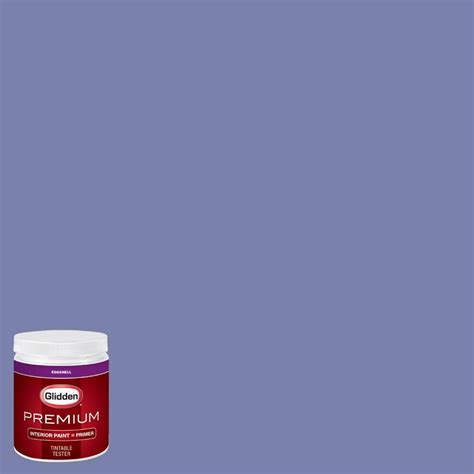 glidden premium 8 oz hdgv40u playhouse purple eggshell interior paint with primer tester