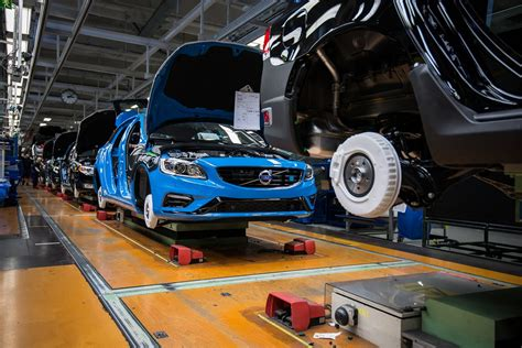 volvo truck production volvo cars starts production of the new volvo s60 and v60