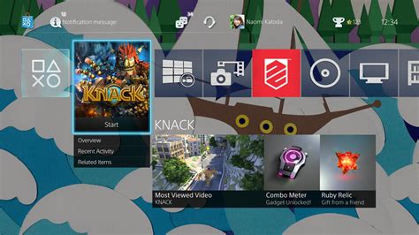 themes ps4 com ps4 2 0 firmware update features detailed new themes and