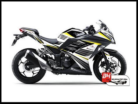 Stiker Racing Ninja R by Stiker Ninja Fi Black Electric Yelow Harga Knalpot Motor