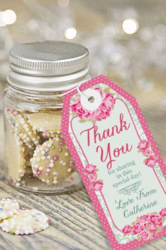 high tea favor tags thank you tags instantly