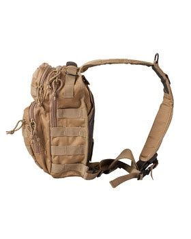 Tas Slempang Shoulder Tactical Army Desert mini molle tactical recon shoulder bag coyote desert