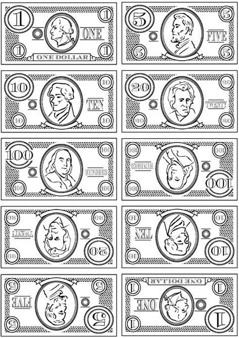 printable fake money pdf printable play money for the wee ones f o r t h e k