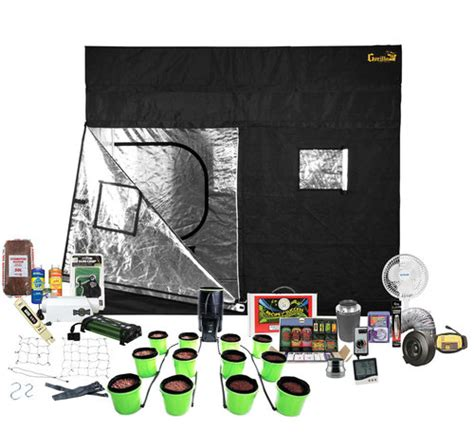 grow room supplies and equipment 9 x 9 gorilla grow tent kit w hydroponic system portable indoor grow room fullbloom
