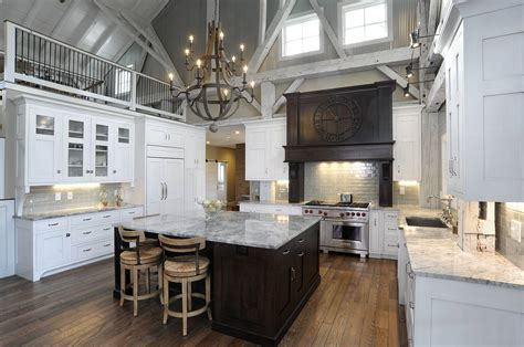 Kitchen Design With Island Mullet Cabinet Rebuilt Timber Frame Barn Home Kitchen