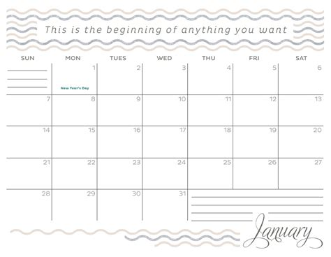 january 2018 calendar excel template printable templates letter