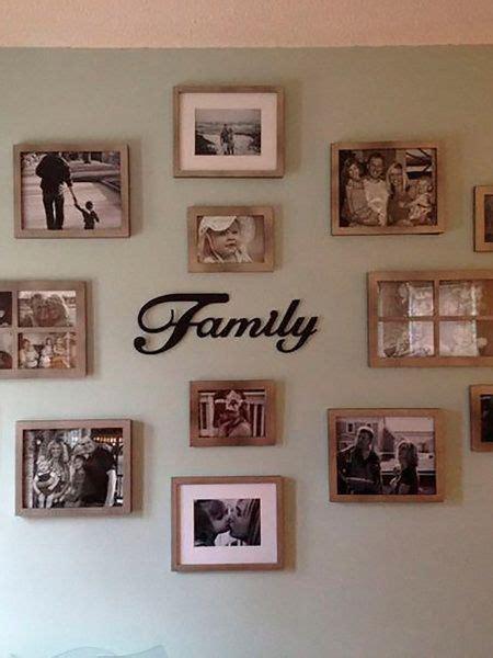 collage de fotos en cuadros para pared collages gratis las 25 mejores ideas sobre paredes de fotos de familia en