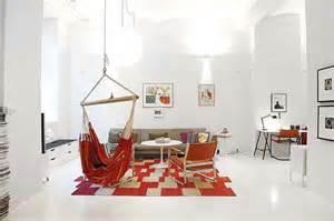 hammock in living room indoor hammocks lush luxe